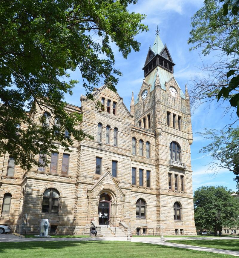 Knox County Courthouse royaltyfria foton
