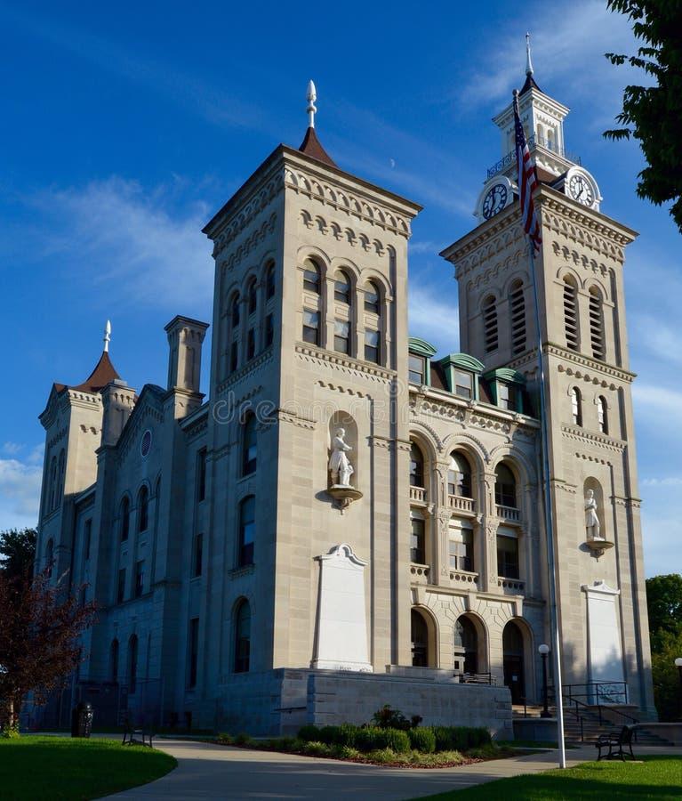 Knox County Courthouse foto de archivo