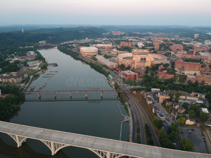 Knoxville céntrico imagen de archivo