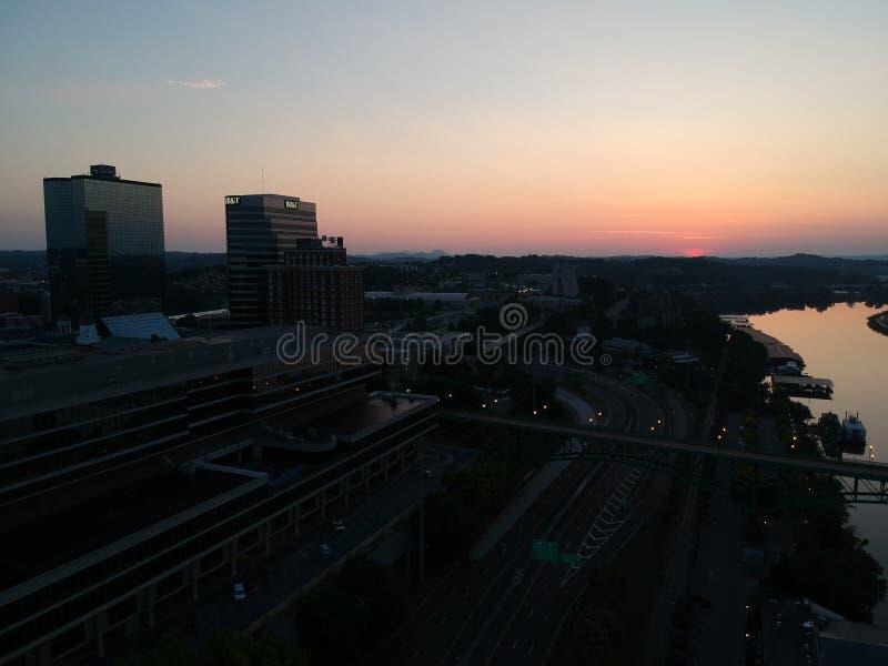 Knoxville céntrico foto de archivo
