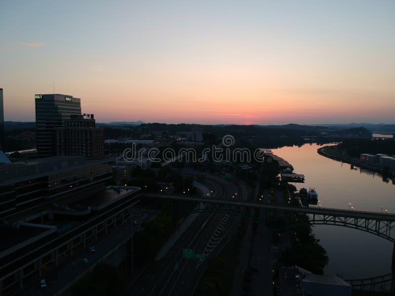 Knoxville céntrico fotografía de archivo
