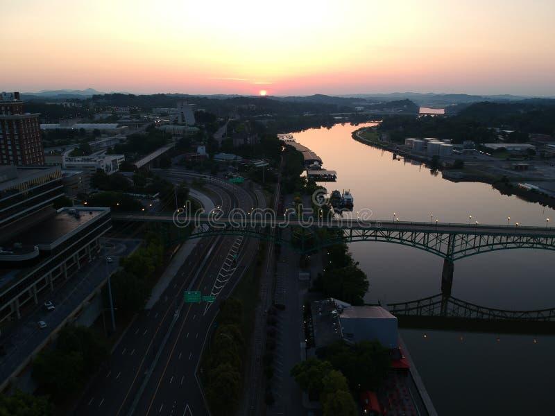 Knoxville céntrico foto de archivo libre de regalías