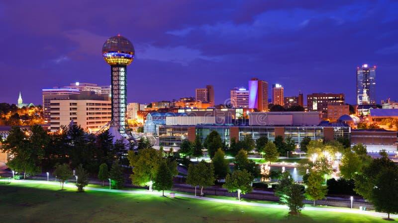 Knoxville do centro imagem de stock royalty free