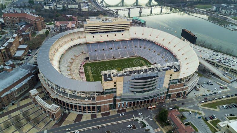 Knoxville Stadium-mening stock foto