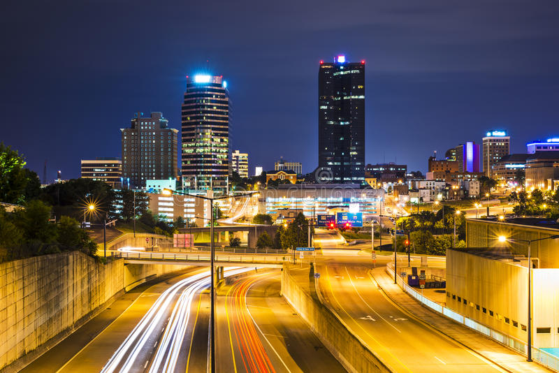 Knoxville Tennessee stockfoto