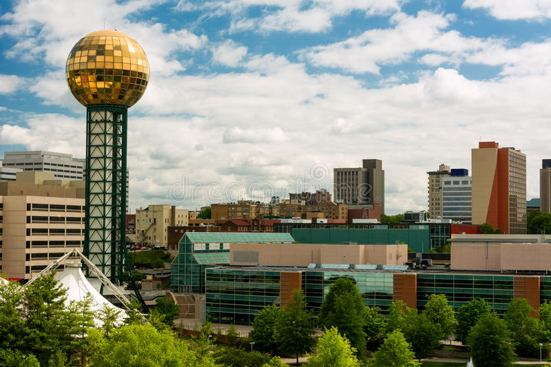 Knoxville Tennessee fotos de stock royalty free