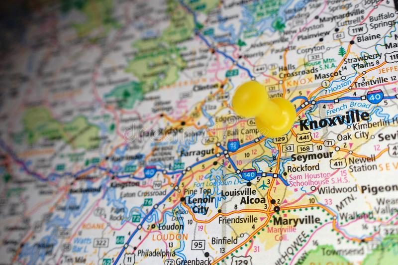 Knoxville, Tennessee imagens de stock royalty free