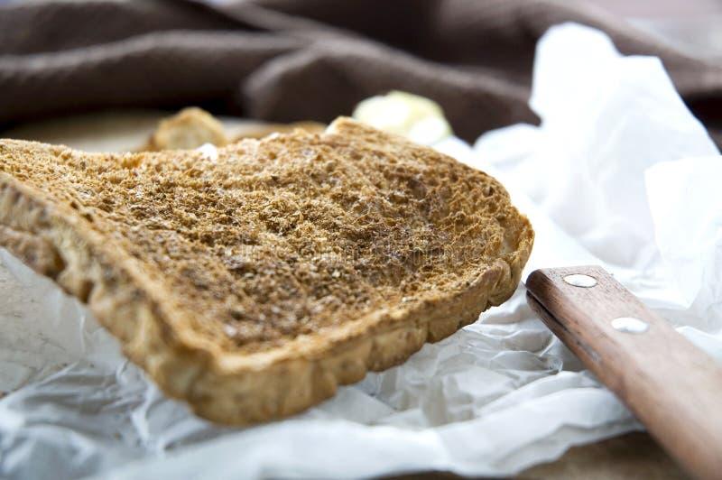 Knusperiges geröstetes Frühstück stockfotografie