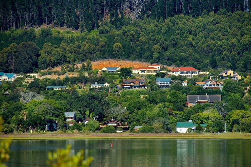Knysna, itinerario del giardino, Sudafrica. fotografia stock