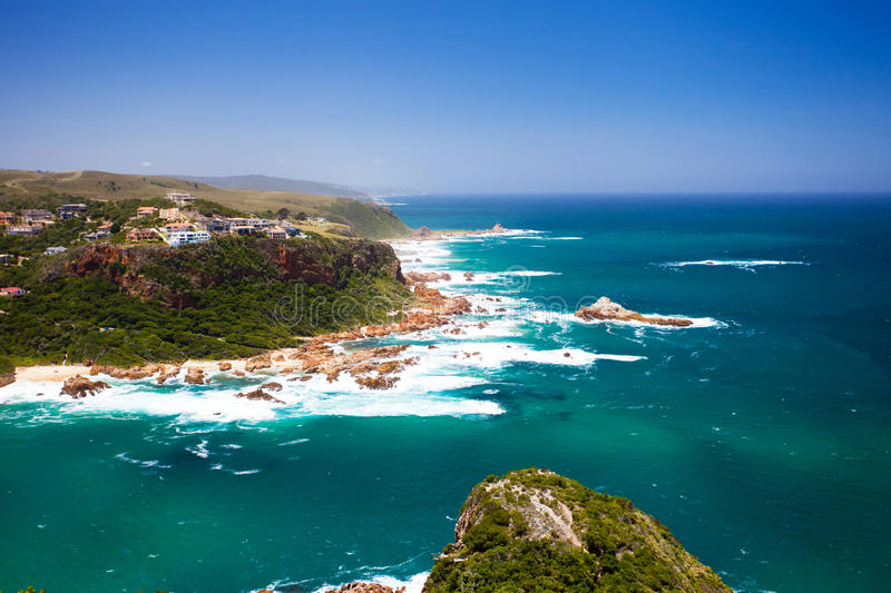 Knysna, South Africa. Featherbed nature reserve in Knysna, South Africa stock images