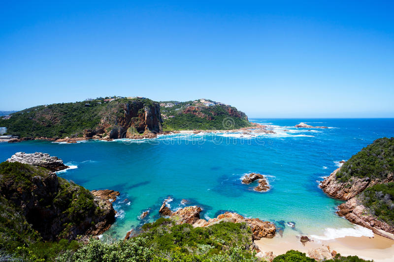 Knysna, South Africa. Featherbed nature reserve in Knysna, South Africa royalty free stock image