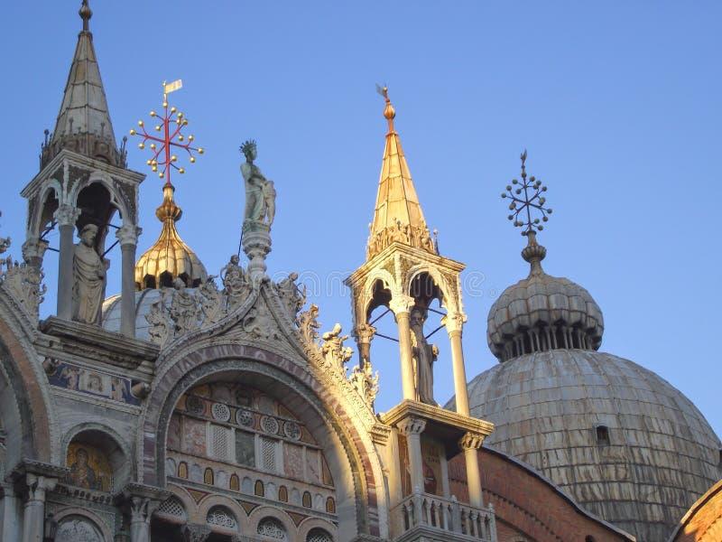 Kościół kopuła przy Wenecja zdjęcie royalty free