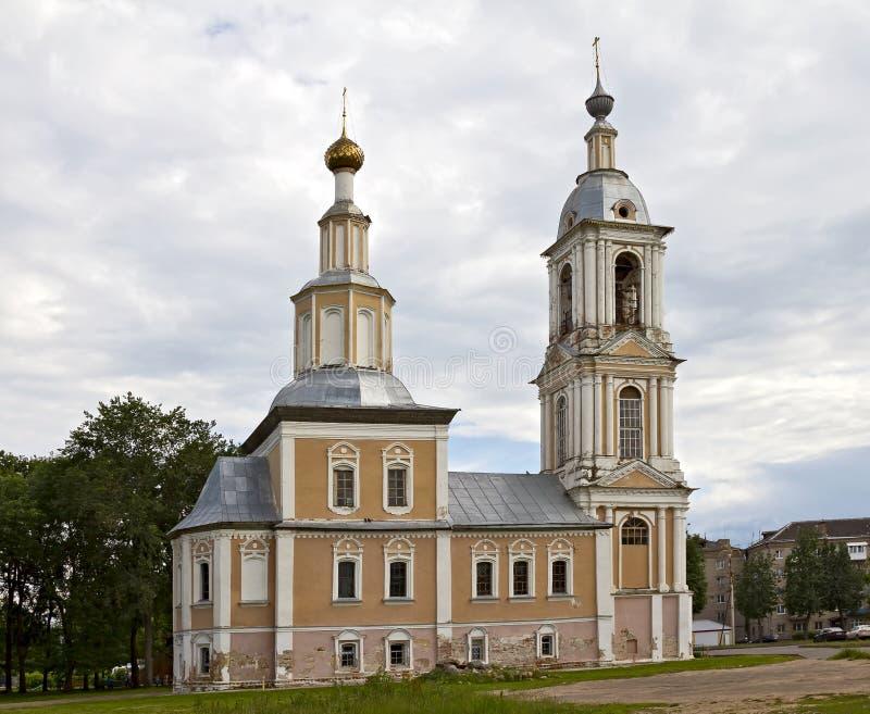 Kościół Theotokos Kazan w Uglich obrazy stock