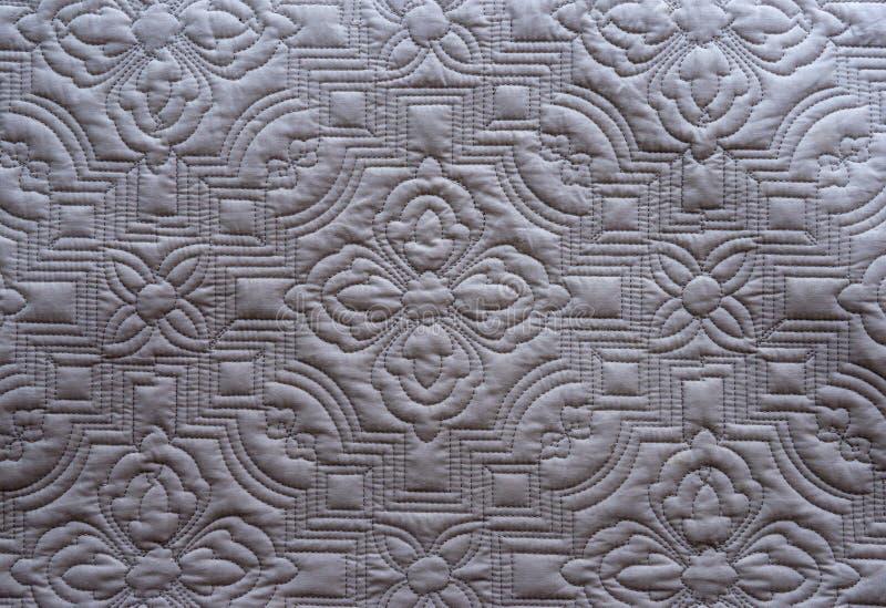 Kołdrowy tkaniny tekstury tło obrazy stock