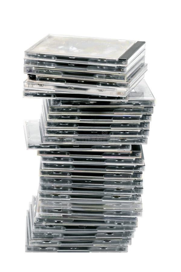 kołek cd obraz stock