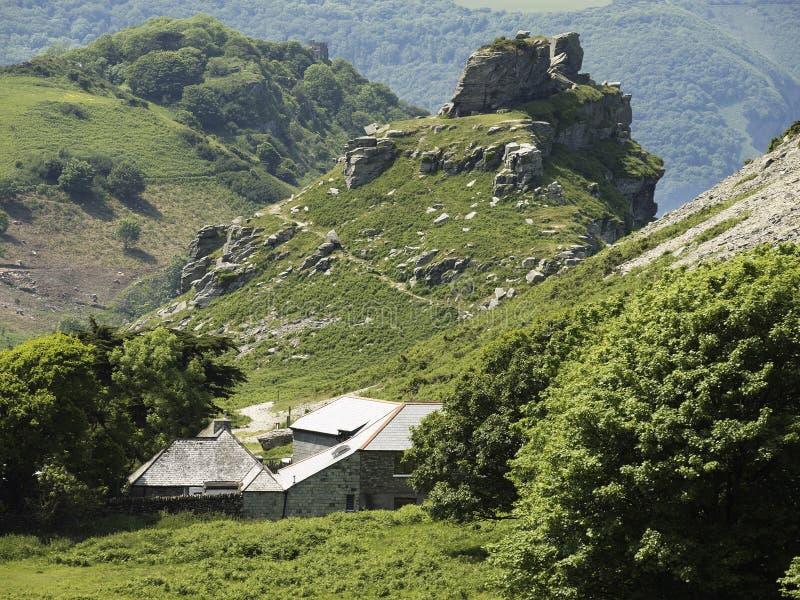 kołysa dolinę zdjęcie royalty free