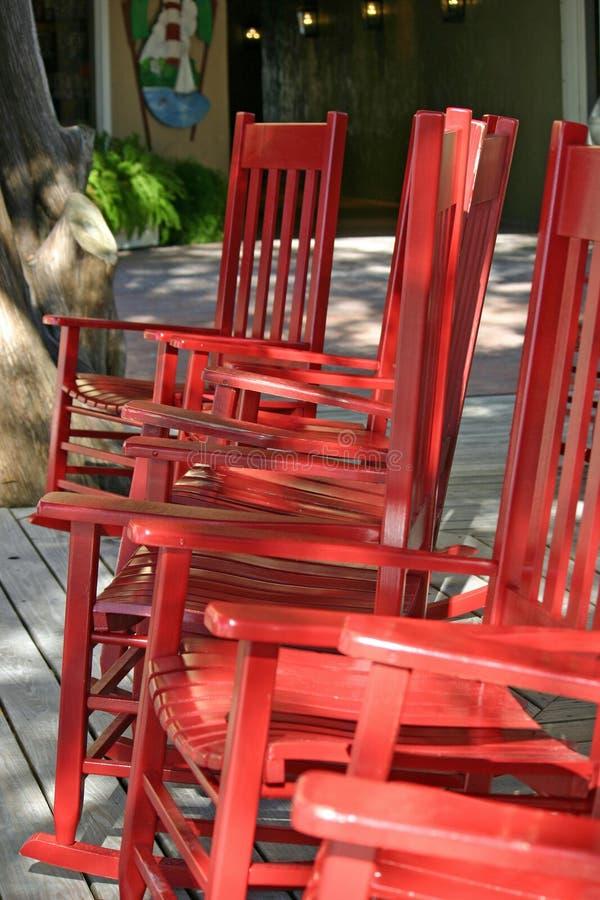 Kołysa krzesła 2 zdjęcia royalty free