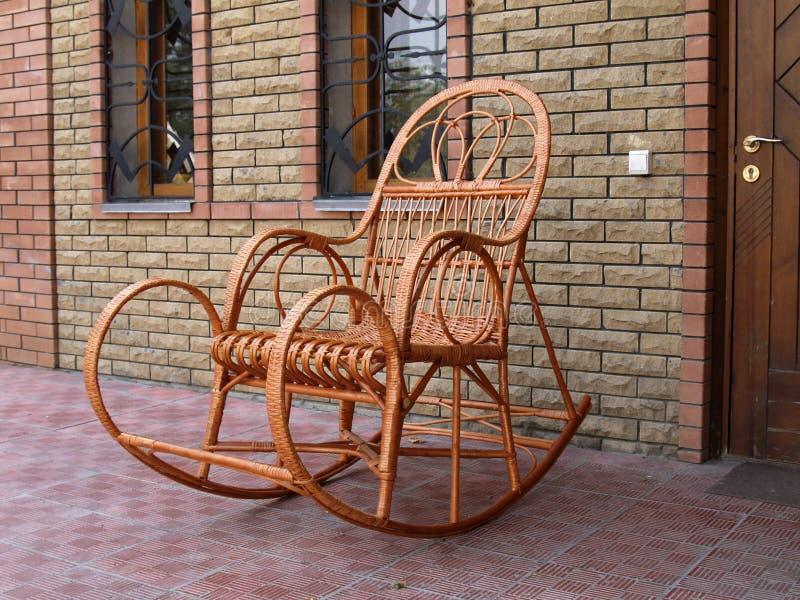 Kołysa krzesło fotografia stock