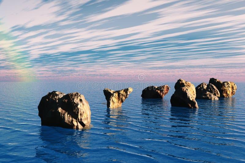 kołysa morze fotografia royalty free