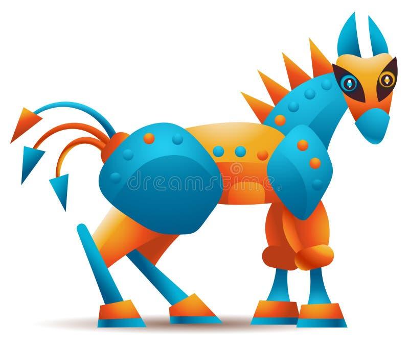 Koń Trojański ilustracji