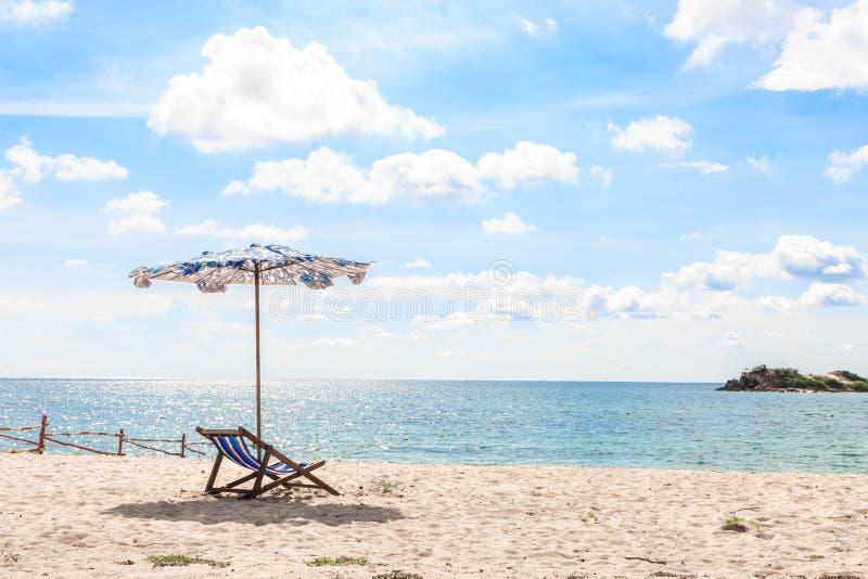 Końcówka lato na plaży zdjęcia stock