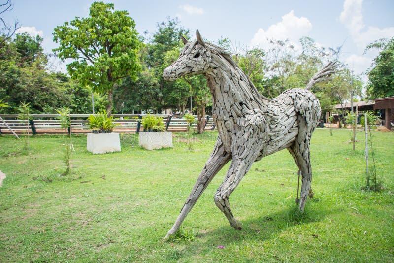 Końska rzeźba fotografia stock