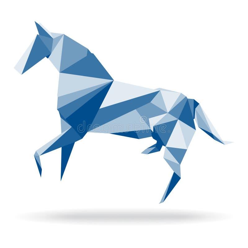 Koński wielobok ilustracja wektor