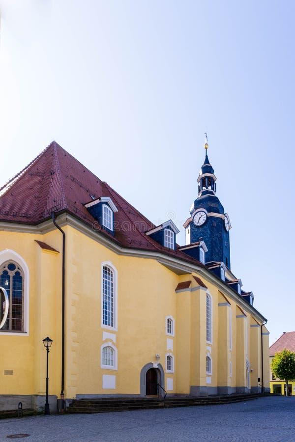 Kościół św. Jakobusa w Turyngii fotografia stock