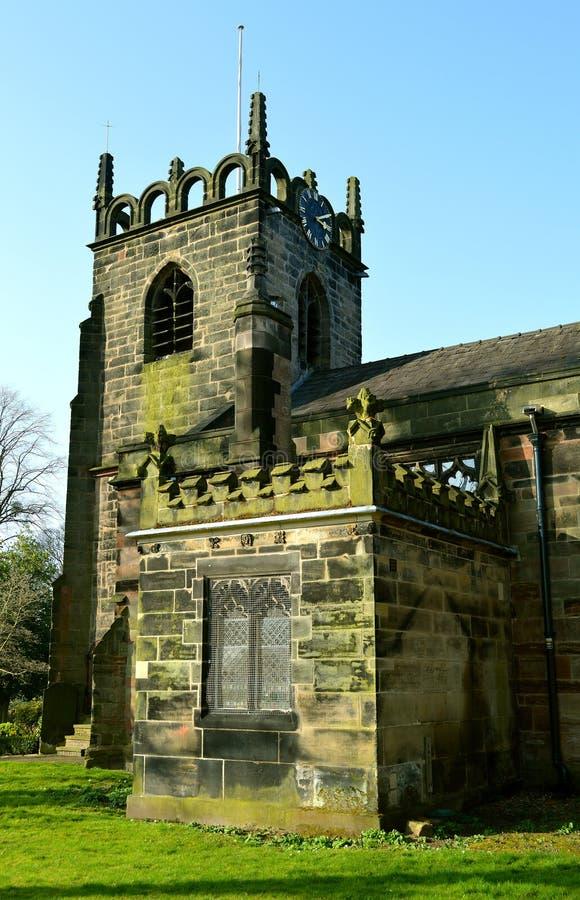 Kościół św. Jakuba w Didsbury zdjęcia stock
