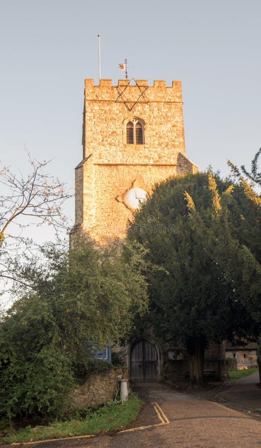Kościół św. Jamesa Wielkiego zdjęcie stock