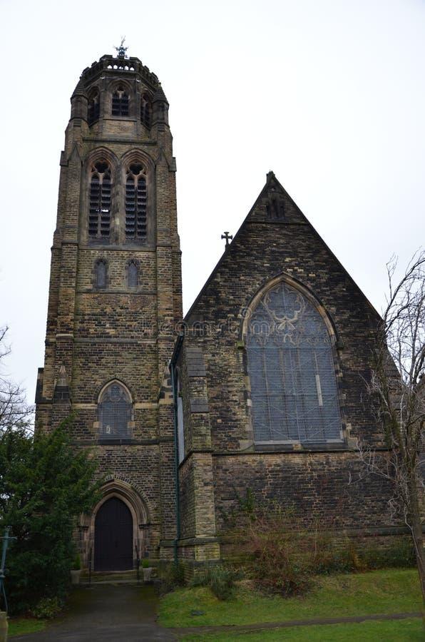 kościół św. Pawła w heaton moor obraz royalty free