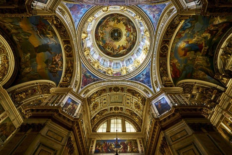 Kościół świętego Isaac ` s katedra obraz royalty free