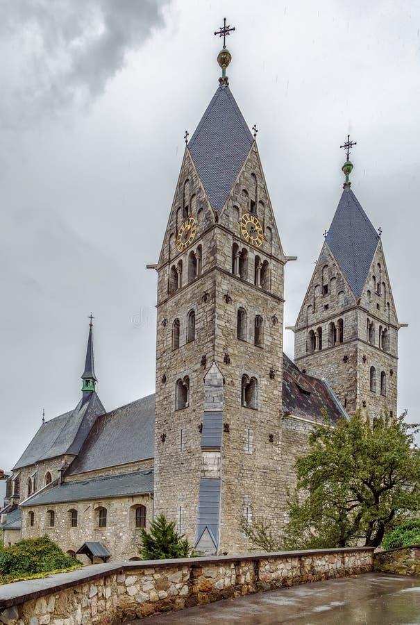 Kościół święty Bartholomew w Friesach, Austria obraz royalty free