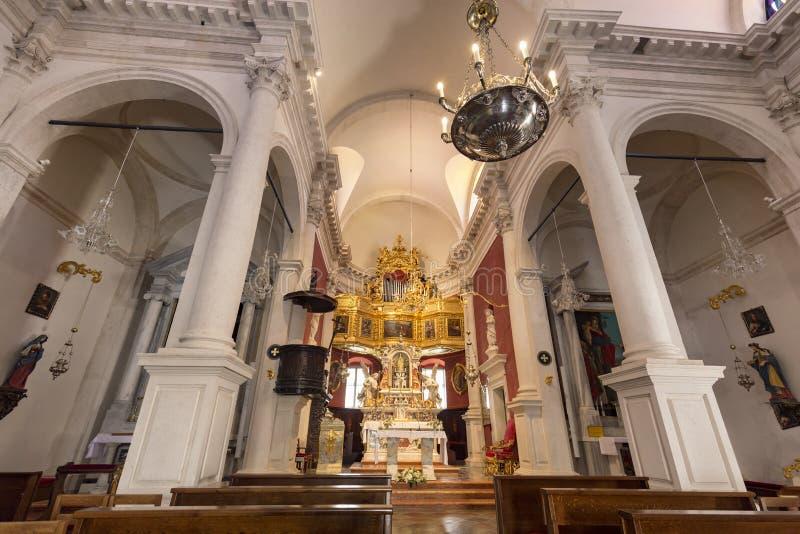 Kościół święty Blaise zdjęcie stock