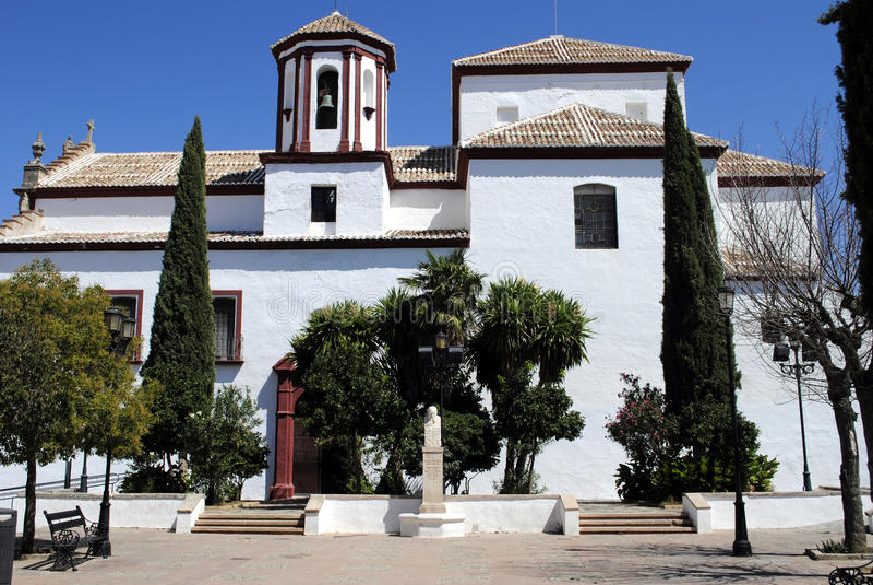Kościół święty Cecilia obrazy royalty free