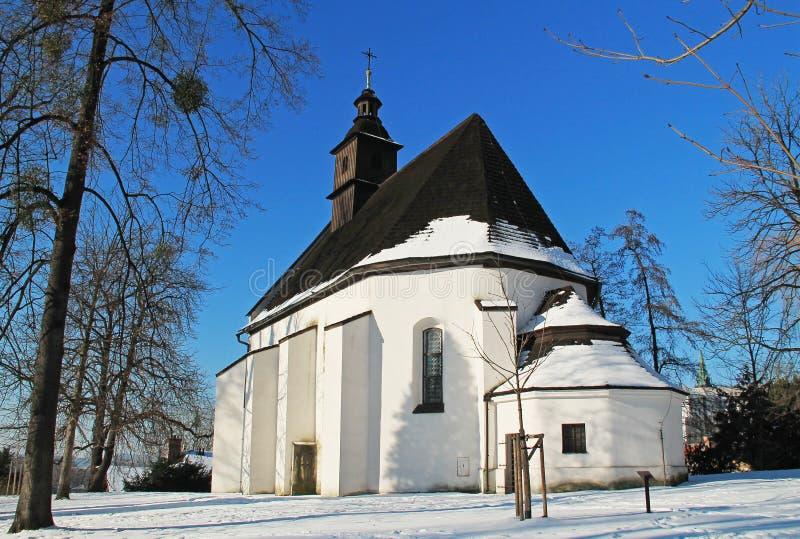 Kościół święty Jost zdjęcie royalty free