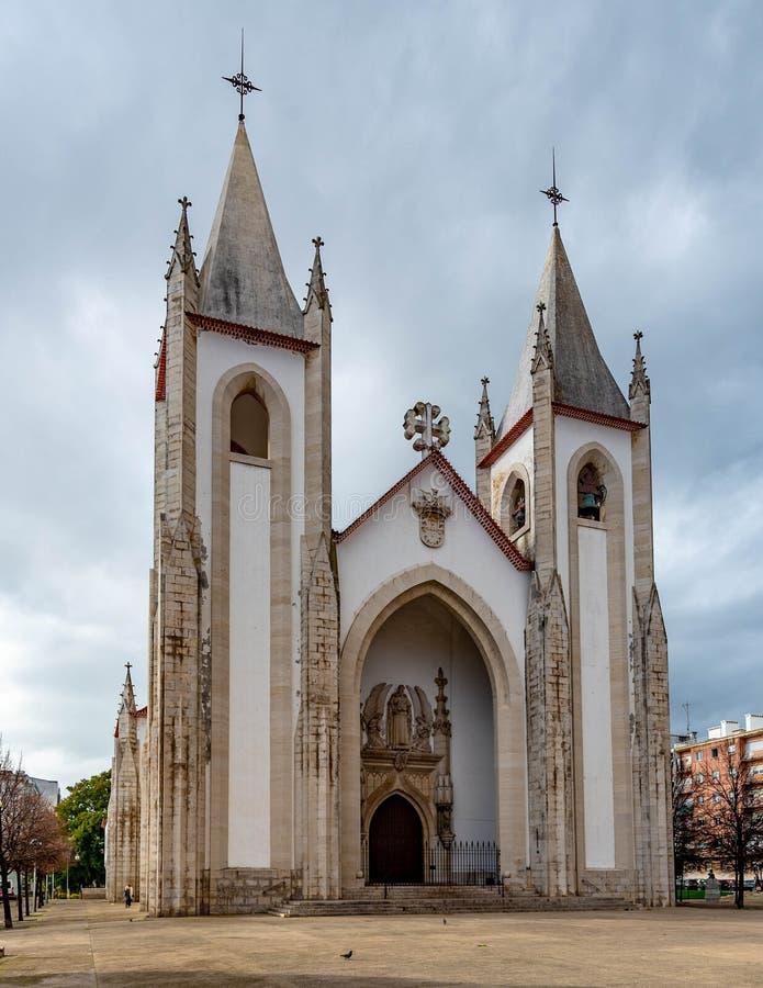 Kościół Święty konstabl w Lisbon zdjęcie royalty free