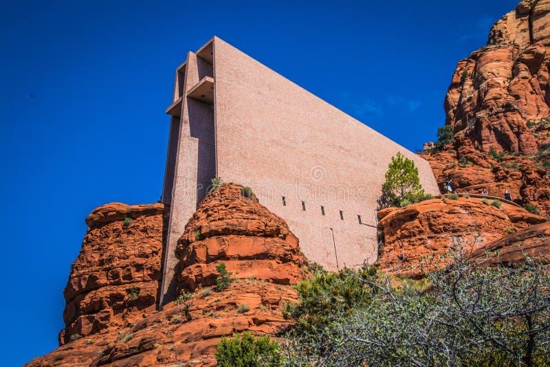 Kościół Święty krzyż zdjęcie stock