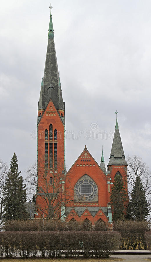 Kościół święty Michael w Turku fotografia stock