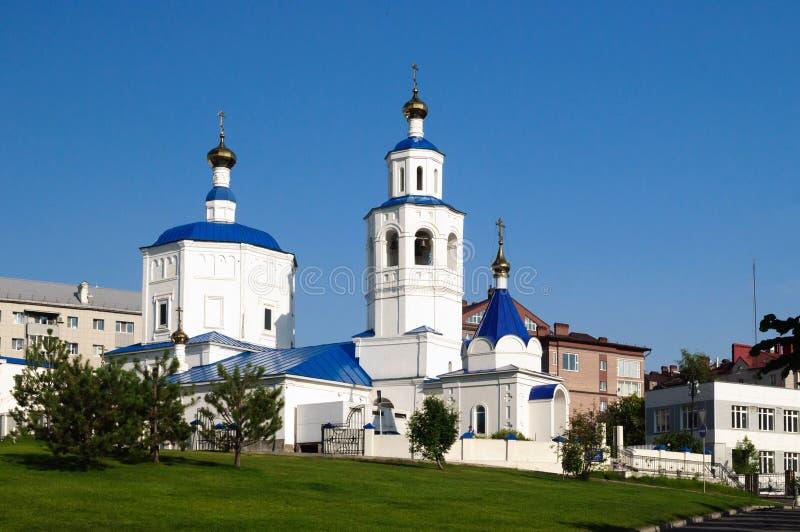 Kościół Święty wielki męczennika Paraskeva Piątek xviii wiek, Kazan, Rosja zdjęcia stock