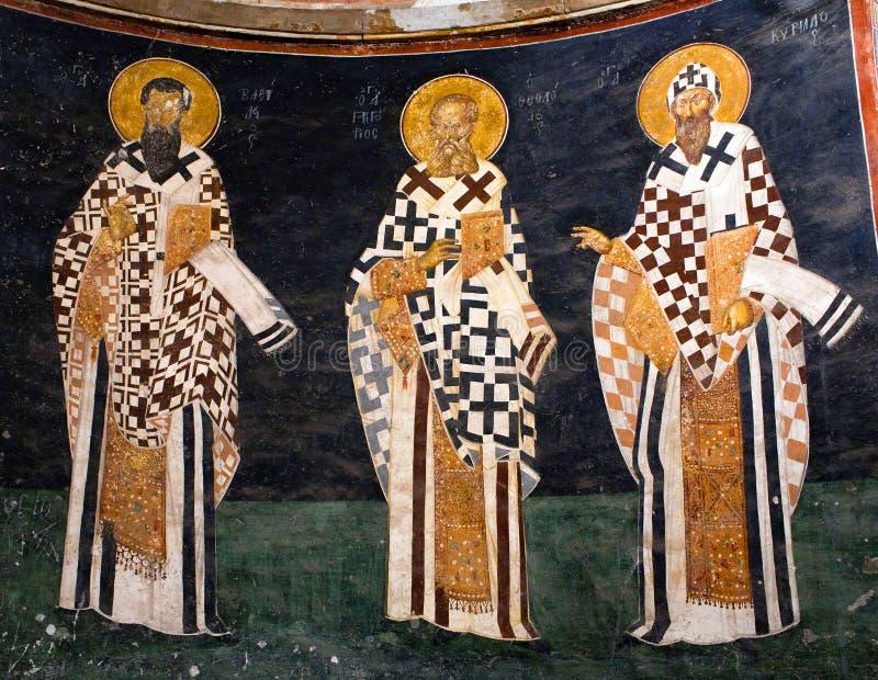 Kościół Święty wybawiciel w Chora w Istanbuł, Turcja zdjęcia royalty free