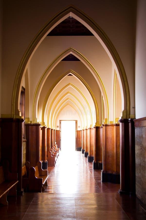 kościół światło obrazy stock