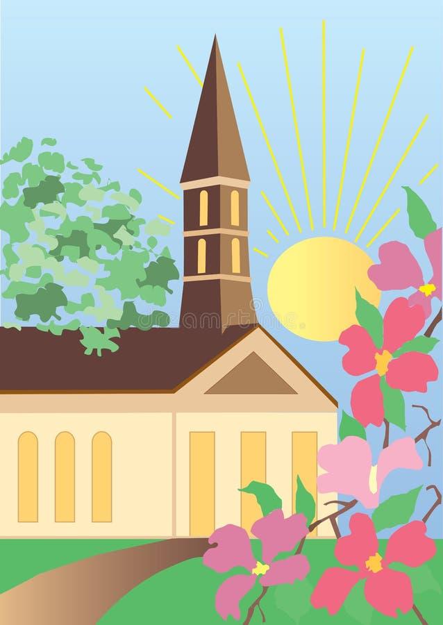 kościół ilustracji