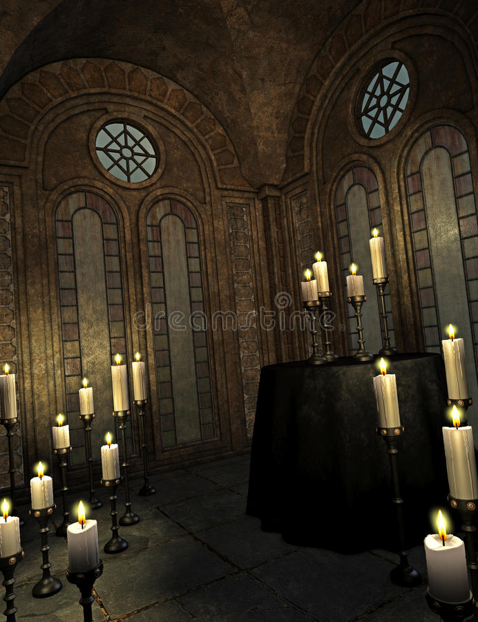 kościół royalty ilustracja