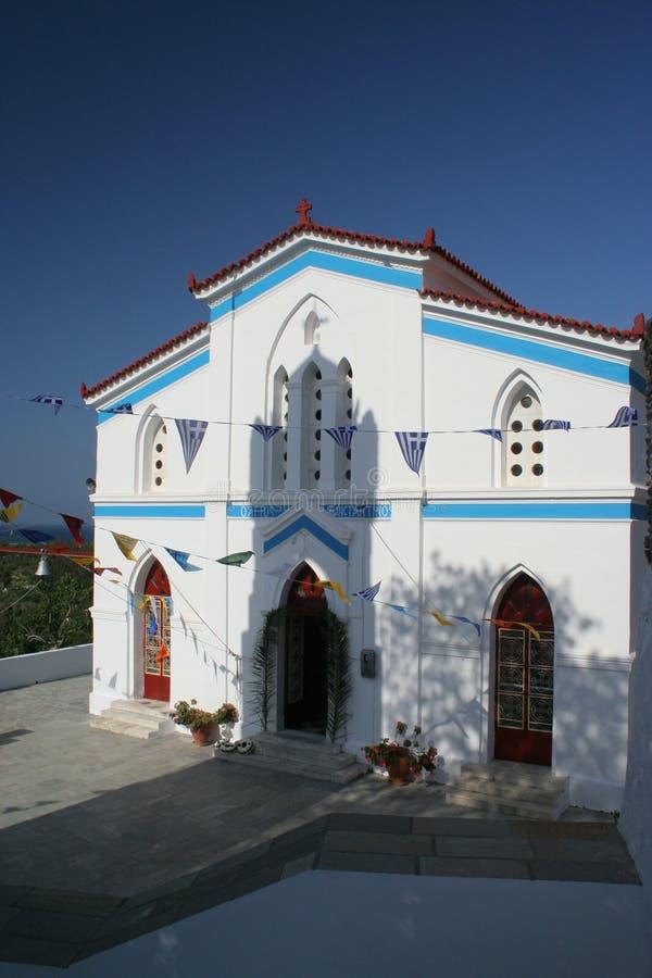 kościół andros zdjęcie stock