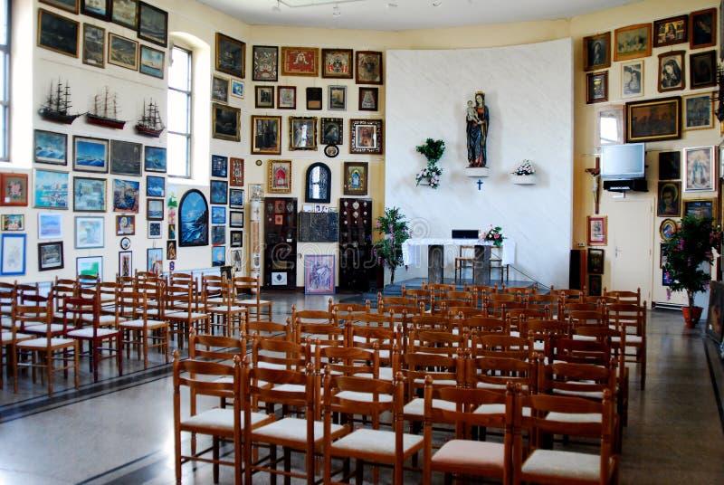 Kościół Błogosławiony maryja dziewica na Trsat w Rijeka obrazy royalty free