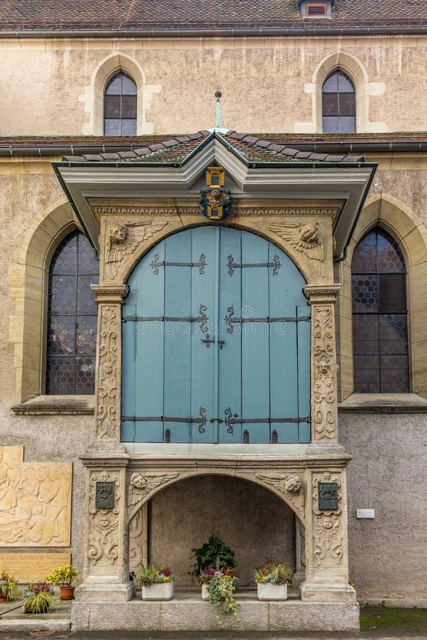 Kościół Baden w Szwajcaria obrazy royalty free