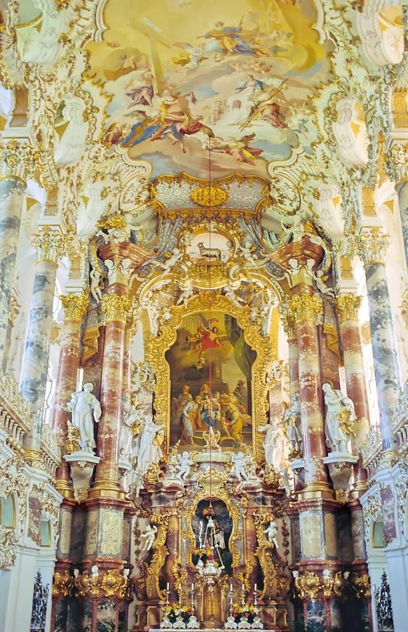 kościół bavarian obrazy stock
