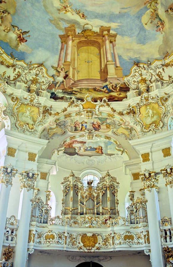 kościół bavarian obraz royalty free