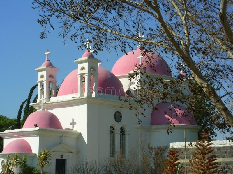 kościół caphernaum ortodoksyjny zdjęcie stock